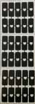 Heart nail stencils for airbrush   Valentines  love